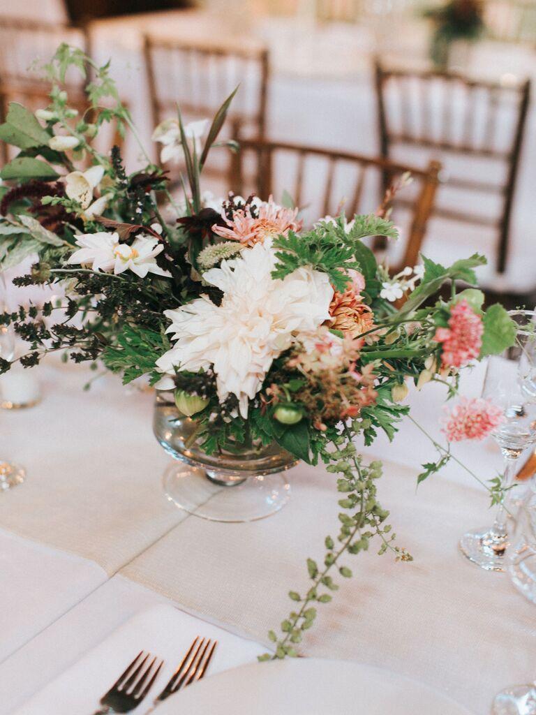 Wedding Centerpieces Dahlia