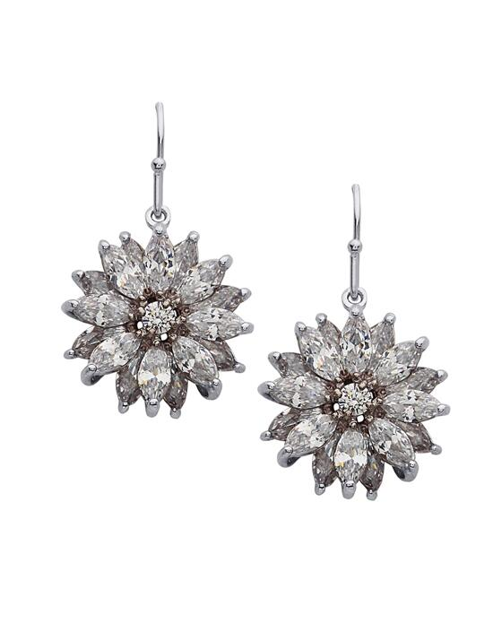 Nina Bridal Aarti_silver Wedding Earrings photo