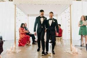 Breaking the Glass at Same-Sex Multicultural Vancouver Wedding