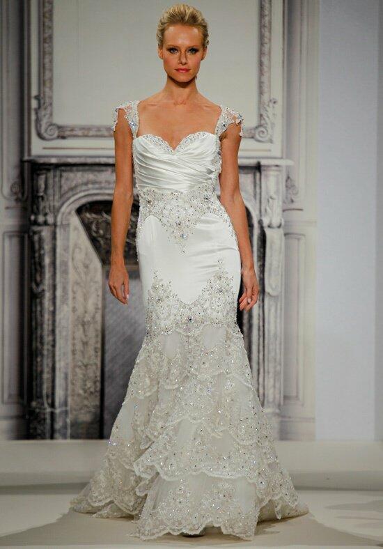 Pnina tornai for kleinfeld 4276 wedding dress the knot for Kleinfeld wedding dress designers