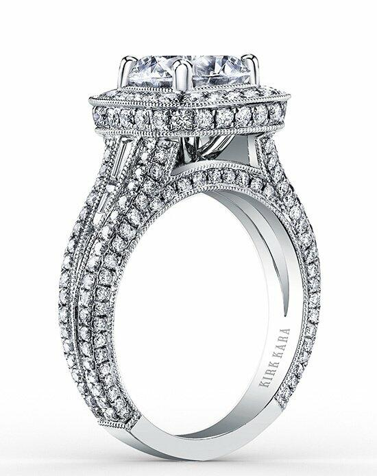 Kirk Kara Carmella Collection SS6933TC-R Engagement Ring photo