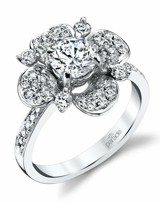 Parade Design Style R3686 from the Lyria Bridal Collection Engagement Ring photo