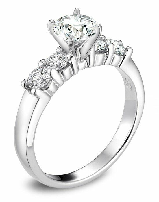 Platinum Must Haves Helzberg Round Diamond Ring in Platinum Engagement Ring photo