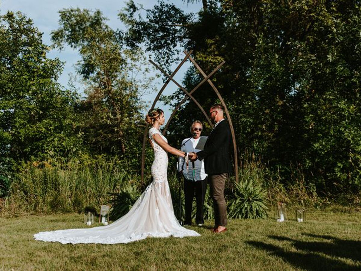 Bride and Groom Stand-In