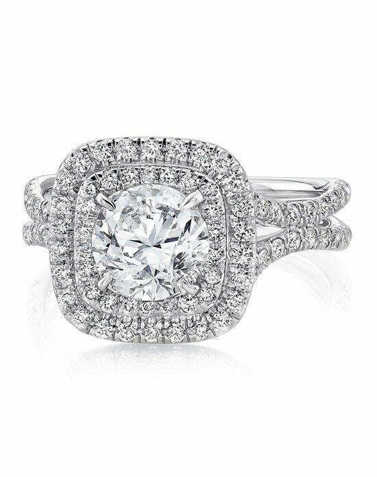 Uneek Fine Jewelry LVS923-6.5RD Engagement Ring photo