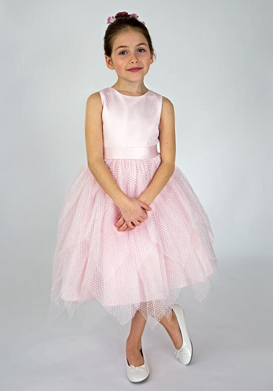 Us Angels Beautiful Color Ella Ballerina Dress-687_blush  Flower Girl Dress photo