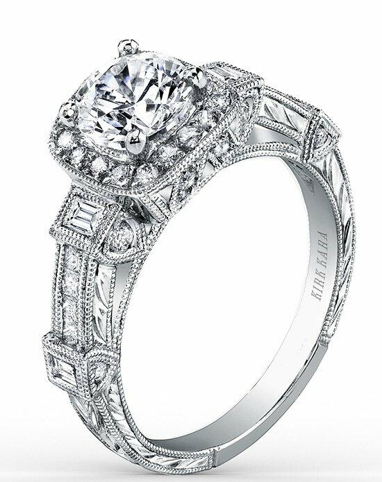 Kirk Kara Carmella Collection SS6757-R Engagement Ring photo