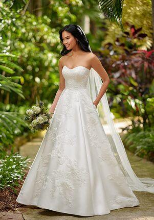 Essense of Australia D3064 A-Line Wedding Dress