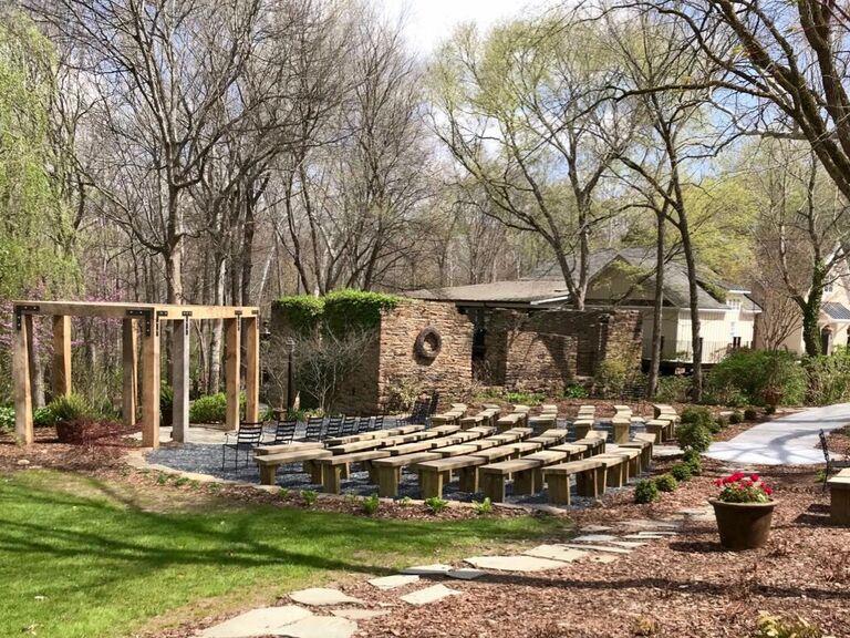 Wedding venue in Powhatan, Virginia.