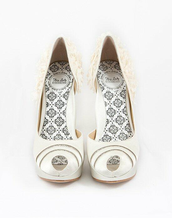 Hey Lady Shoes Luck Be A  Buttercream Wedding Shoes photo