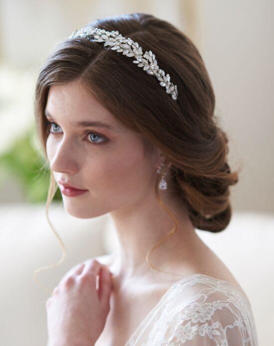 Dareth Colburn Anastasia Opal Headband (TI-7096) Silver Headband