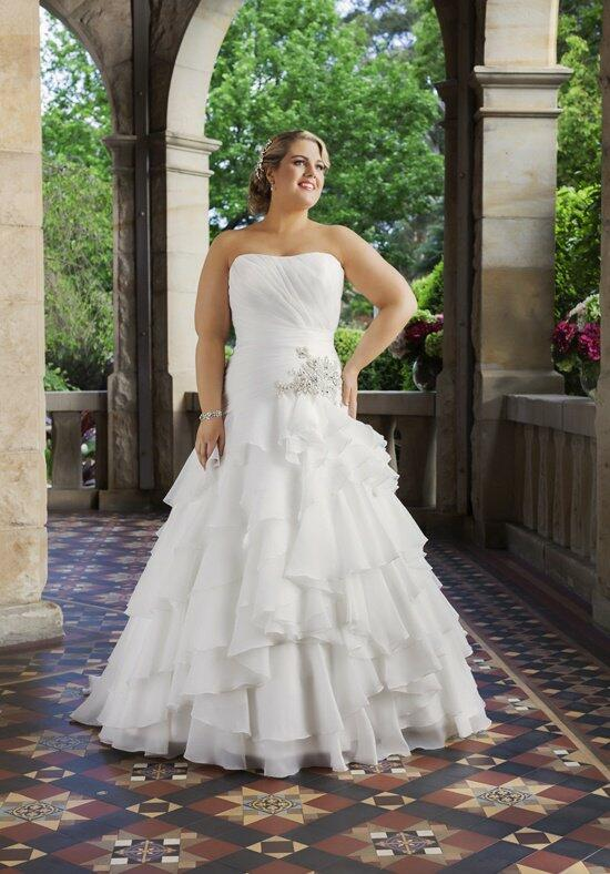 Roz la Kelin - Glamour plus Collection Desiree - 5634T Wedding Dress photo