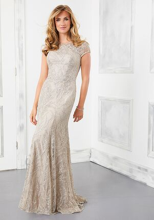 MGNY 72305 Gray,Blue Mother Of The Bride Dress