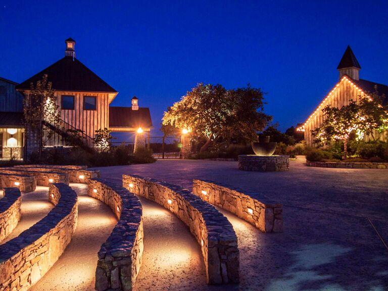 Texas Hill Country wedding venue in Boerne, Texas.
