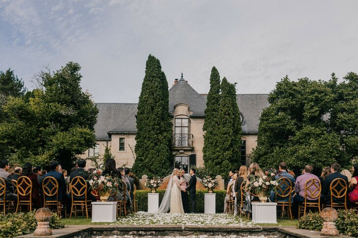 """After dating Andrew Chen (29 and a physician) for 10 years, Ashley Betke (28 and a preschool teacher) had a clear vision in mind for their big day. """"W"""