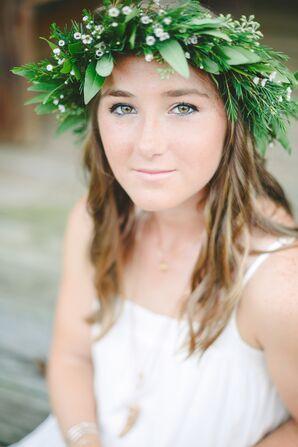 Ethereal Fresh Greenery Flower Crown