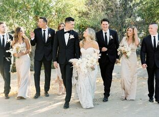 For wedding planners, there's often extra pressure when it comes to dreaming up their own day. California-based event pro Alessandra Tacconelli met th