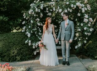 Lindsey Vandevier (30 and in theatrical and event design) and Robert Figueira (29 and a motion graphics artist) met at Carnegie Mellon University when