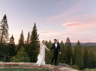 Anne and Charlie's shared love of fly fishing has always been central to their relationship so when it came time to plan their wedding at Martis Camp