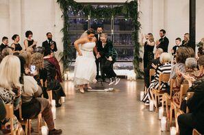 Wedding Ceremony at at PAIKKA in St. Paul, Minnesota