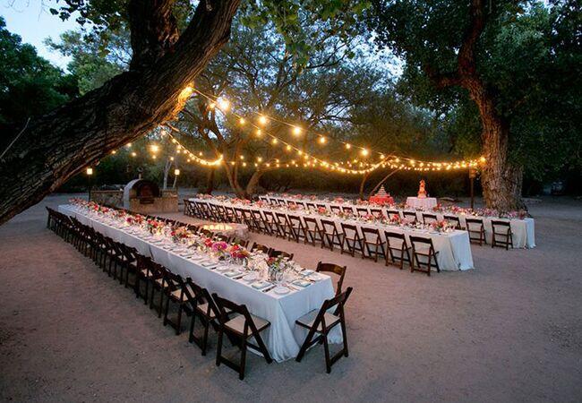 Outdoor Reception | Mel Barlow & Co | Blog.theknot.com