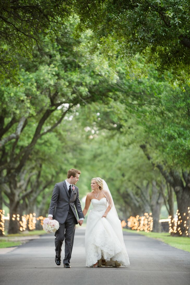 """Blair's best wedding day advice? """"Your wedding day will fly by so fast,"""" she says. """"Make sure you slow down and make memories during the day. Take time to remember each special event."""""""