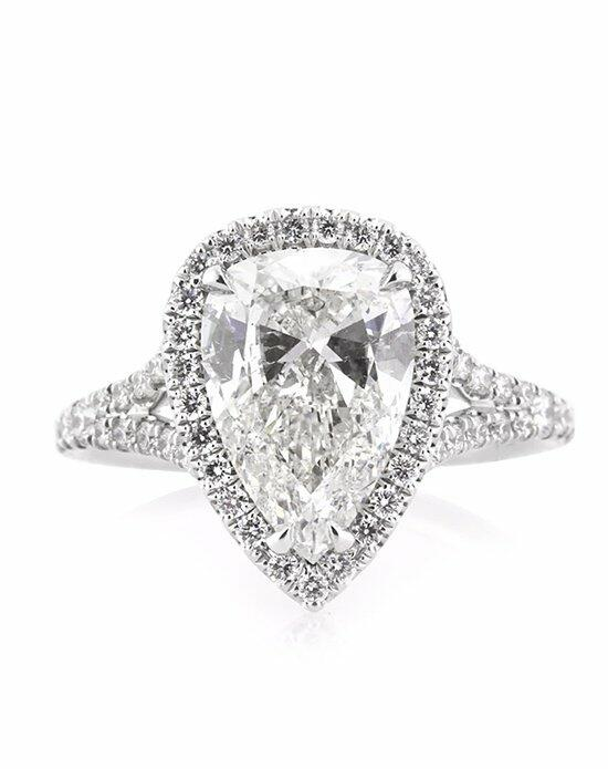 Mark Broumand 3.11ct Pear Shaped Diamond Engagement Ring Engagement Ring photo