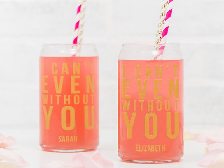 I can't even without you personalized tumblers