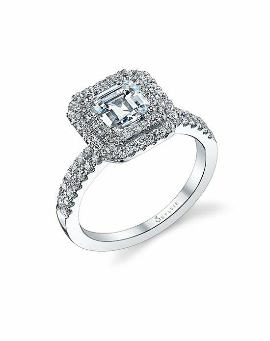 Sylvie Collection S1107 Engagement Ring photo