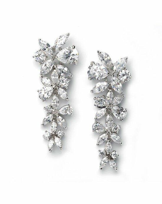 USABride Delilah CZ Drop Earrings Wedding Earrings photo
