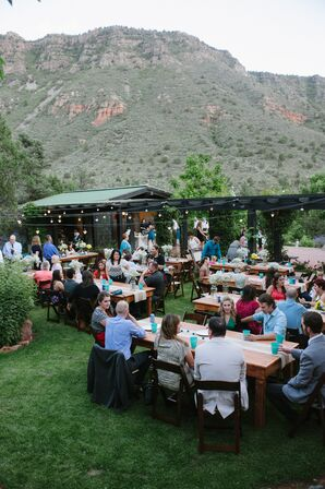 Reception at Segner Country Ranch Estate