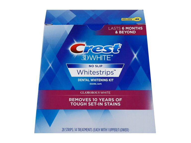 bed bath and beyond crest 3D whitestrips for wedding day teeth whitener
