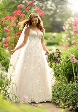 Essense of Australia D2905 A-Line Wedding Dress