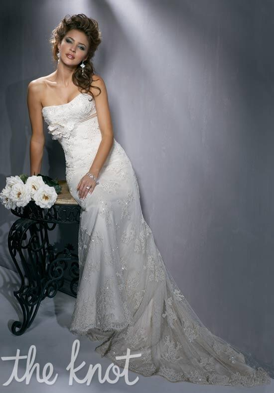 Maggie sottero harlow wedding dress the knot for How do you preserve a wedding dress
