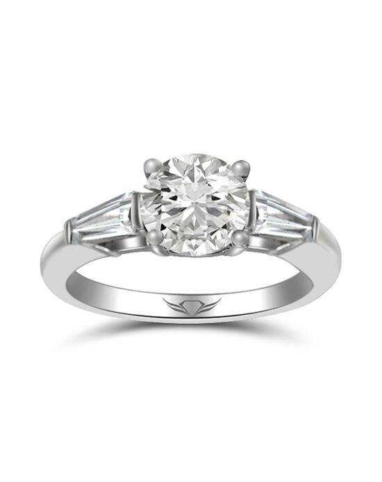 """Yes!"" Platinum Jewelry  Flyerfit by Martin Flyer-CT04XSTBPL-C-7.0RD Engagement Ring photo"