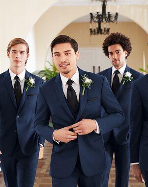 Men's Wearhouse Calvin Klein® Blue Suit Blue Tuxedo