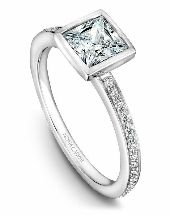 Noam Carver B095-04WS-100A Engagement Ring photo