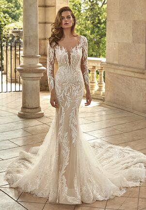 Demetrios DP456 Sheath Wedding Dress