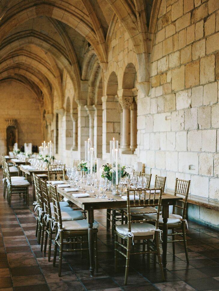 Elegant Reception at Spanish Monastery in Miami, Florida