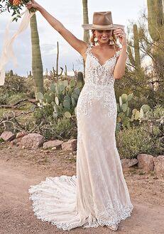 Lillian West 66012 A-Line Wedding Dress