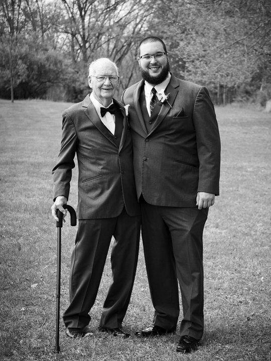 Grandpa best man