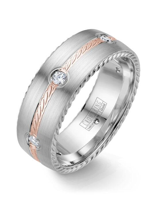 CrownRing WB-014RD8RW-M10 Wedding Ring photo