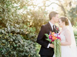 Katherine Burkett (22 and a travel consultant) and Austin West (22 and a medical student) both play saxophone and met through a college band. They cho