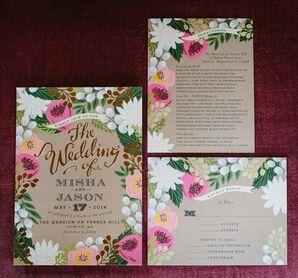 Whimsical Wedding Invitation Suite