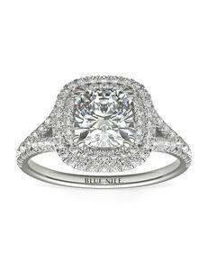 Blue Nile Round Cut Engagement Ring