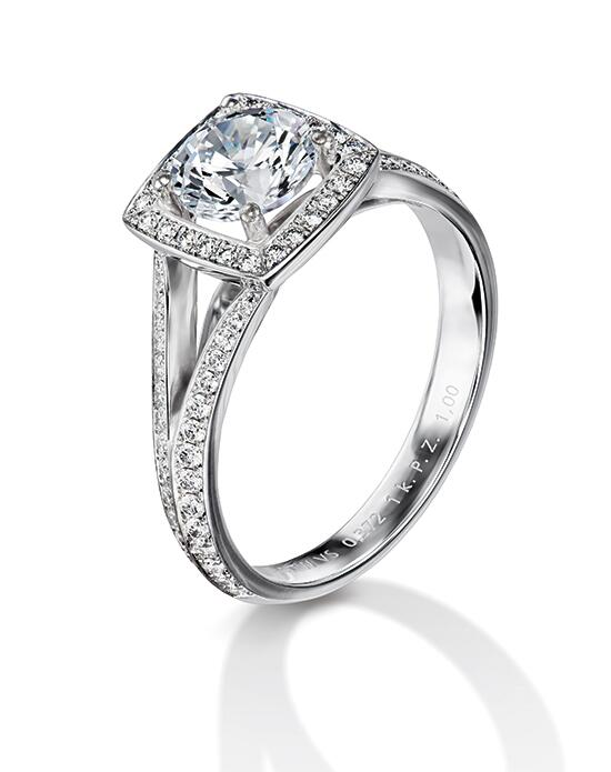 Furrer Jacot Engagement Rings 53-66761 Split Engagement Ring photo