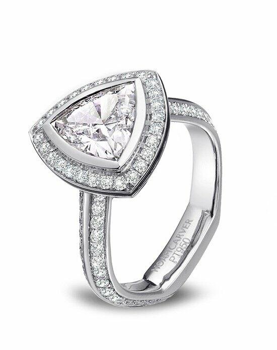 Platinum Must Haves Noam Carver Platinum and Diamond Engagement Ring Engagement Ring photo