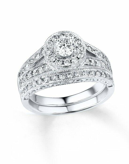 Kay Jewelers DIAMOND BRIDAL SET 3/4 CT TW ROUND-CUT 14K WHITE GOLD Engagement Ring photo