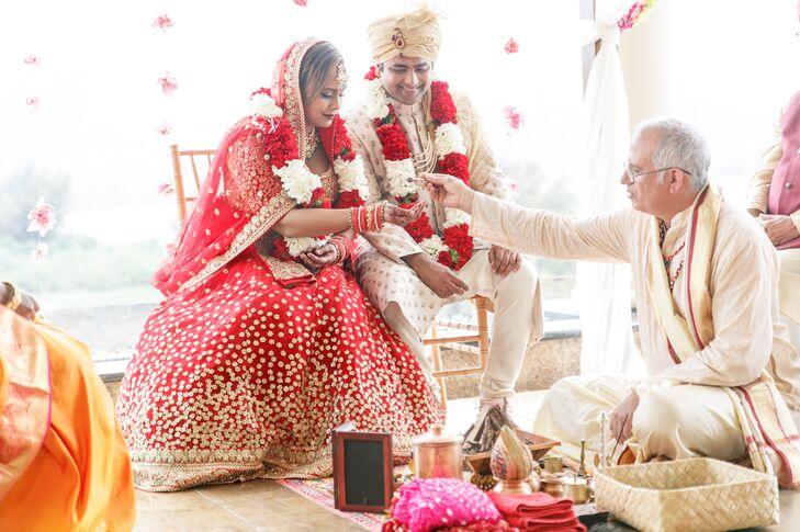 Traditional Hindu Ceremony at The St. Regis Princeville Resort