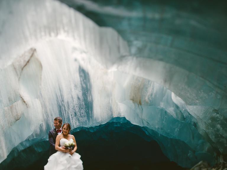 Cave Elopement in Canada